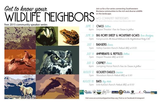 2015_Wildlife Speaker Series Poster ALL